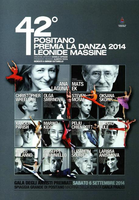 42nd Positano Leonide Massine dancing Premia