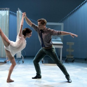 Cassandra with The Royal Ballet's Olivia Cowley