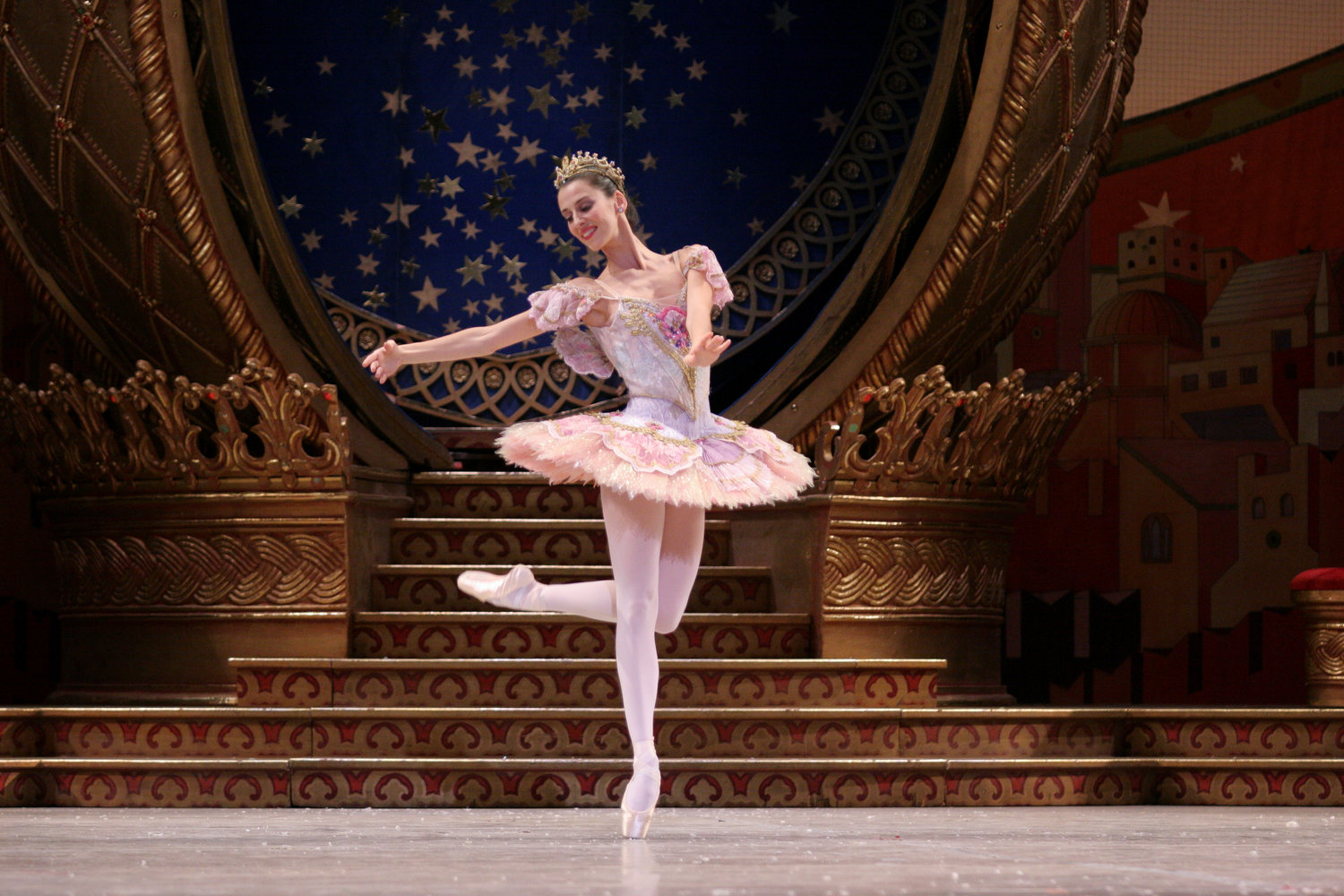 Sonia Rodriguez in The Nutcracker. Photo by Bruce Zinger, courtesy of The National Ballet of Canada