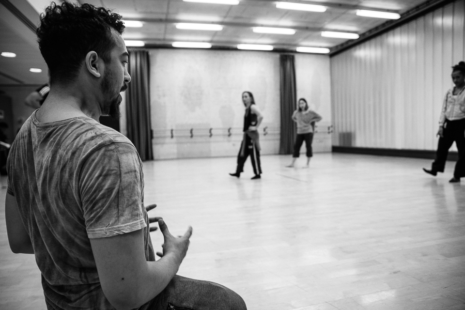 Matthew Bourne's New Adventures Choreographer Award Showcase 2016 Jamaal Burkmar