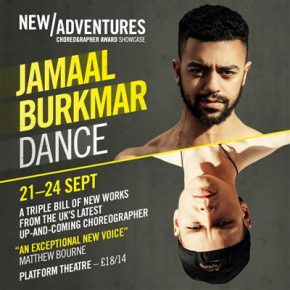 "Matthew Bourne ""Jamaal Burkmar is an exceptional new voice"""