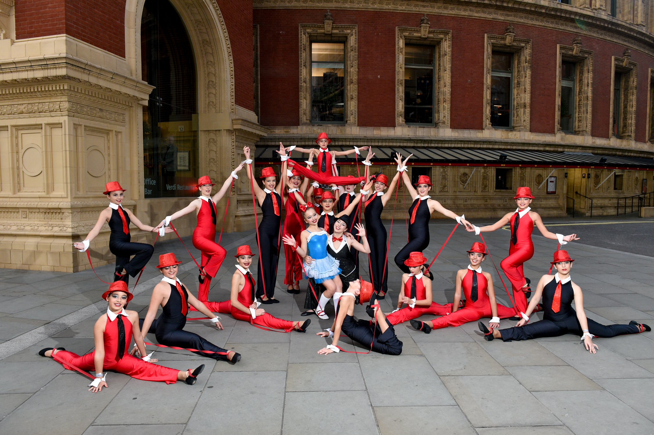 Dance Proms 2016 to send at the on the 30/10/2016. Photo: David Tett