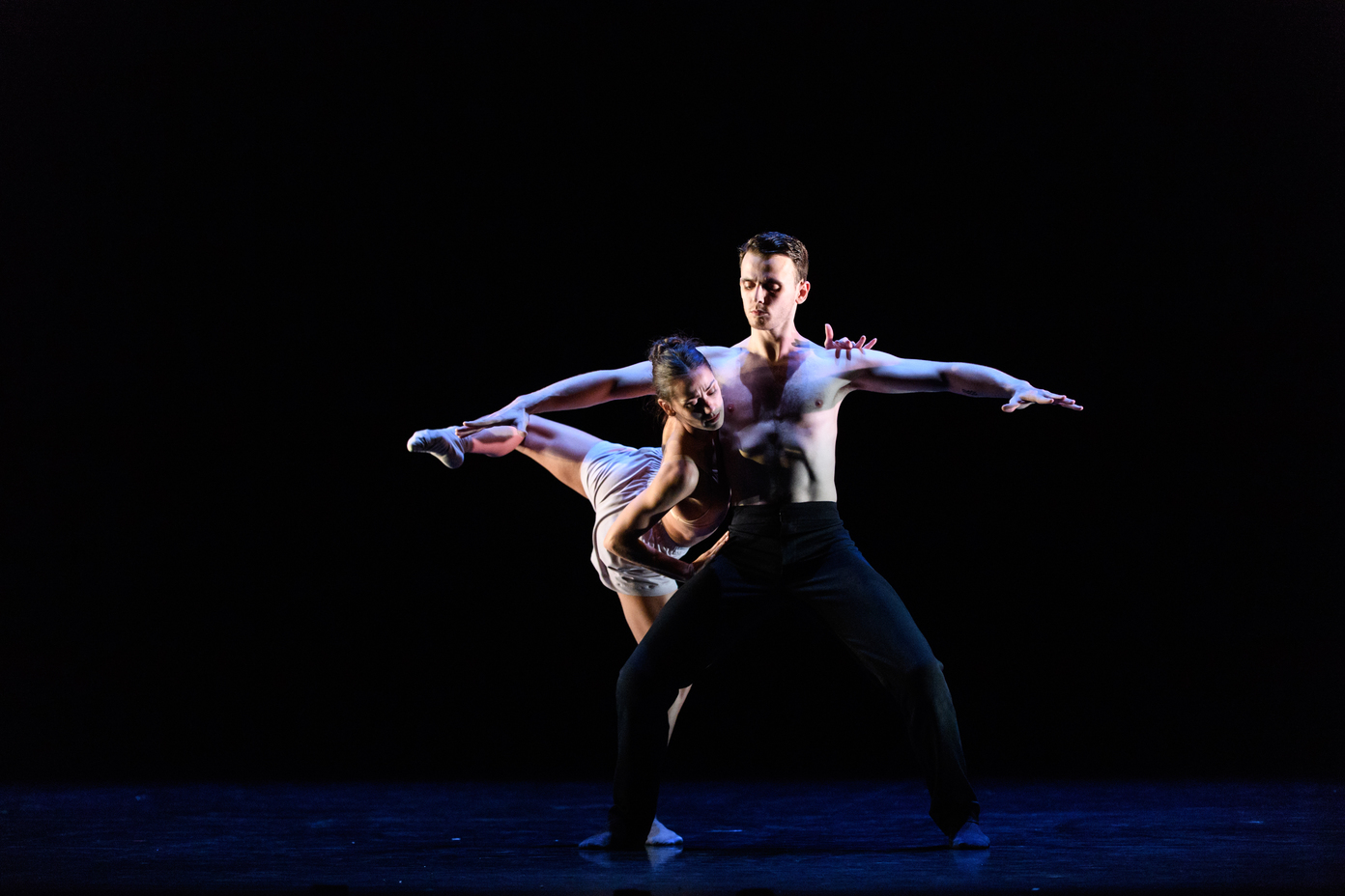 Scottish Ballet's Sibilo, choreographed by first artist and choreographer, Sophie Laplane. Photograph © Jane Hobson