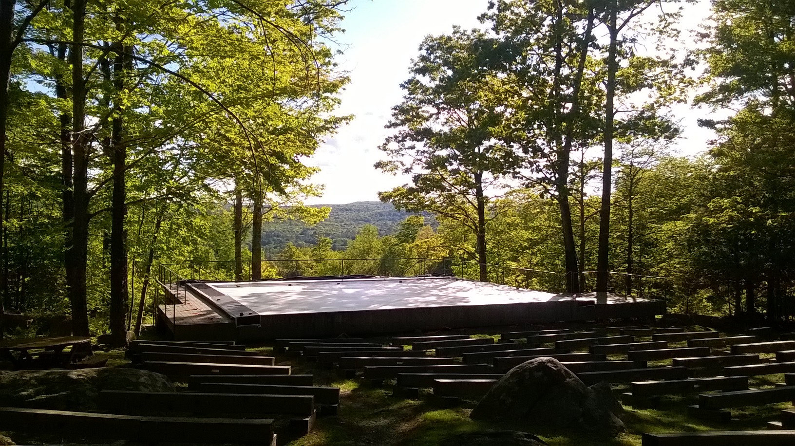 Jacob's Pillow Inside/Out Stage