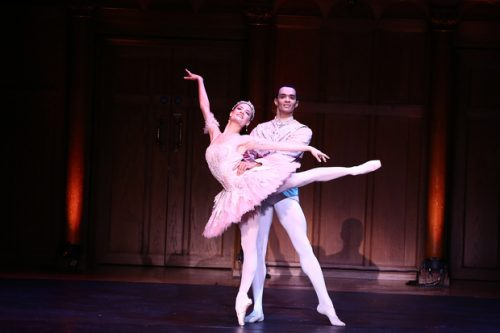 THE NUTCRACKER PAS DE DEUX Delia Mathews Brandon Lawrence Birmingham Royal Ballet
