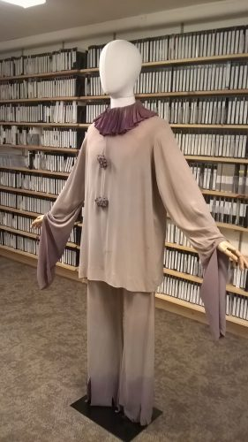 Costume  donated to Jacob's Pillow archive by Stephan Driscoll