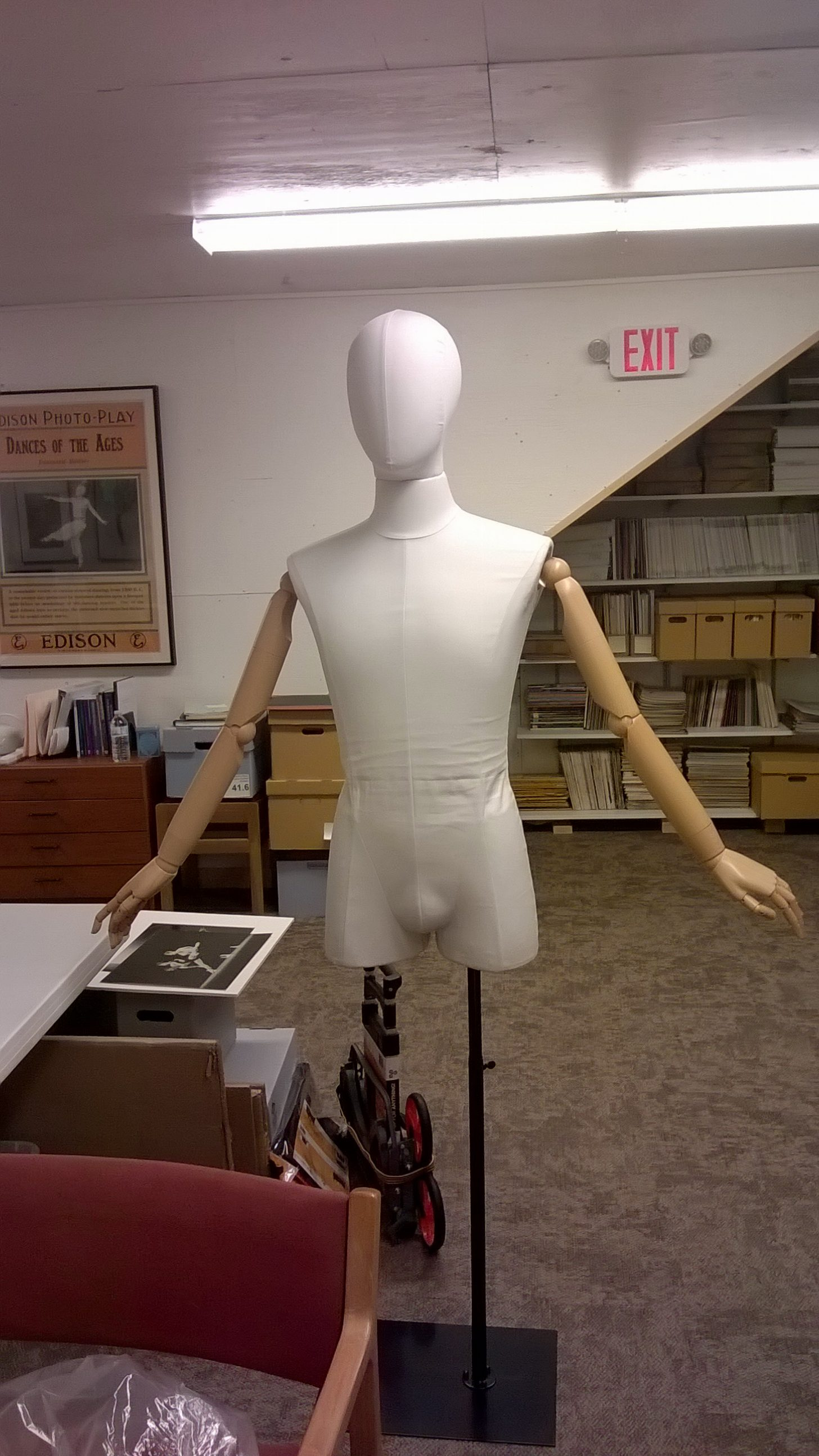The new mannequin