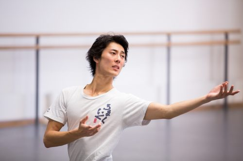 First Soloist, Yasuo Atsuji, Photo Andrew Ross