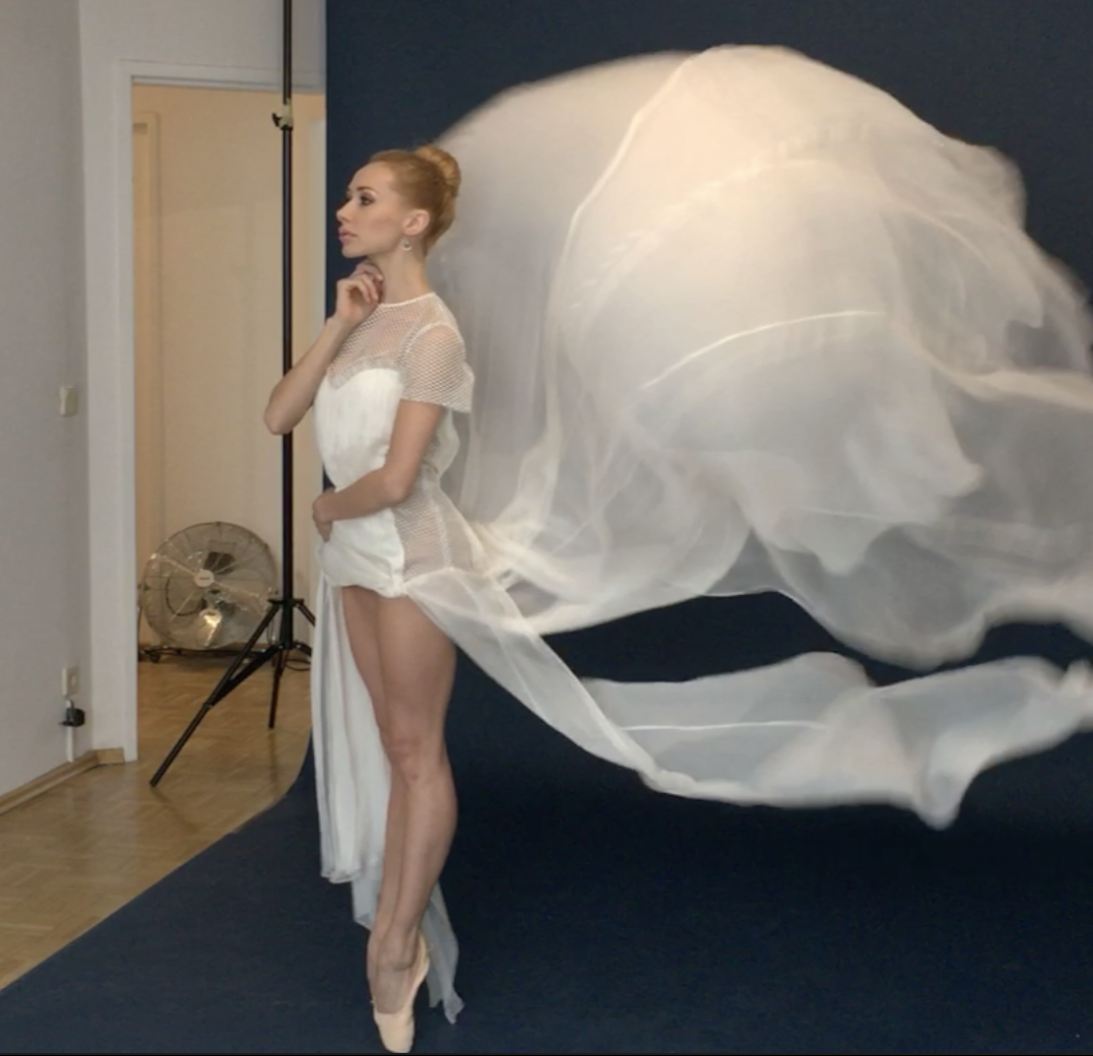Iana Salenko cover shoot behind the scenes