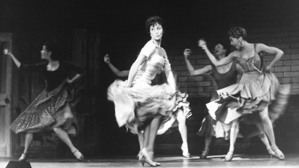 Chita Rivera and the original cast of West Side Story