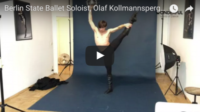 Behind the scenes with Berlin State Ballet Soloist, Olaf Kollmannsperger