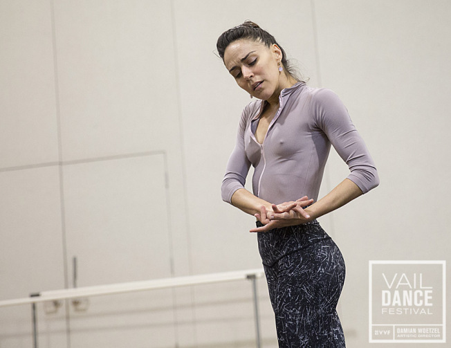 Patricia Delgado at Vail Dance Festival. Credit Photo: Erin Baiano