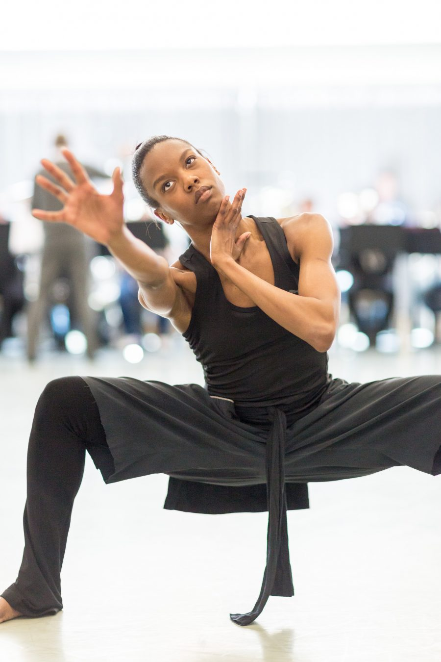 Rambert Dancer Carolyn Bolton (c) Benedict Johnson