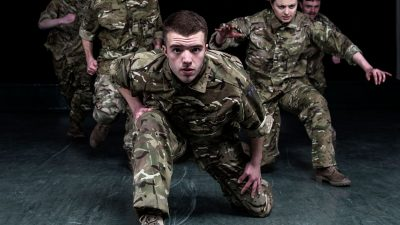 "Rosie Kay Dance Company – 5 SOLDIERS: The Body is the Frontline ""incredibly inspiring and emotional"""