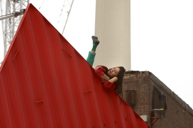 Origami opens London's Dance Umbrella Festival 2017 at Circus West Village, Battersea Power Station.