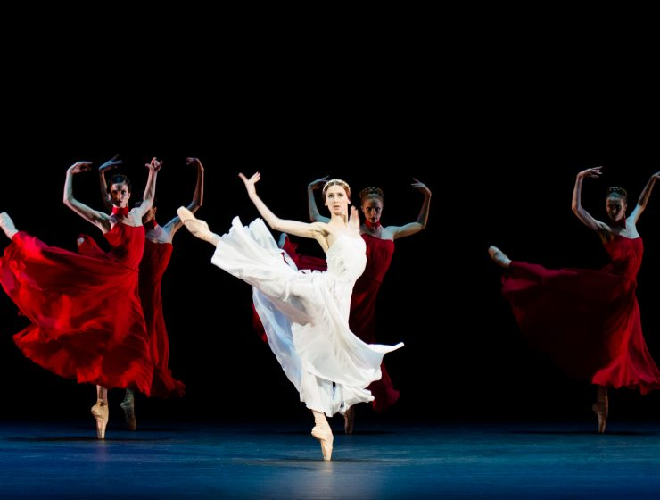 Amore: Svetlana Zakharova and dancers from the Bolshoi