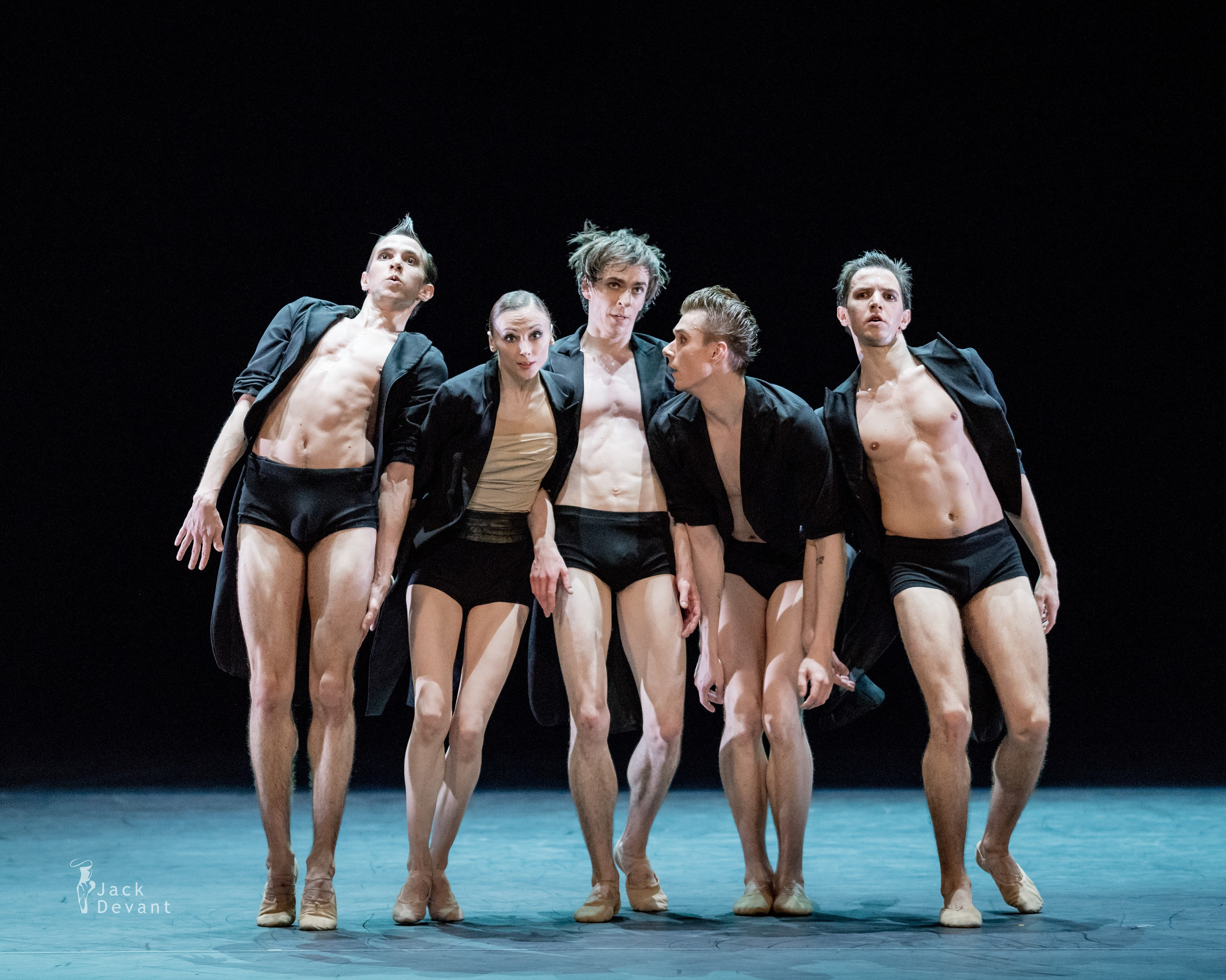 AMORE featuring Svetlana Zakharova (second from left) in Strokes of the Tail photo by Jack Devant