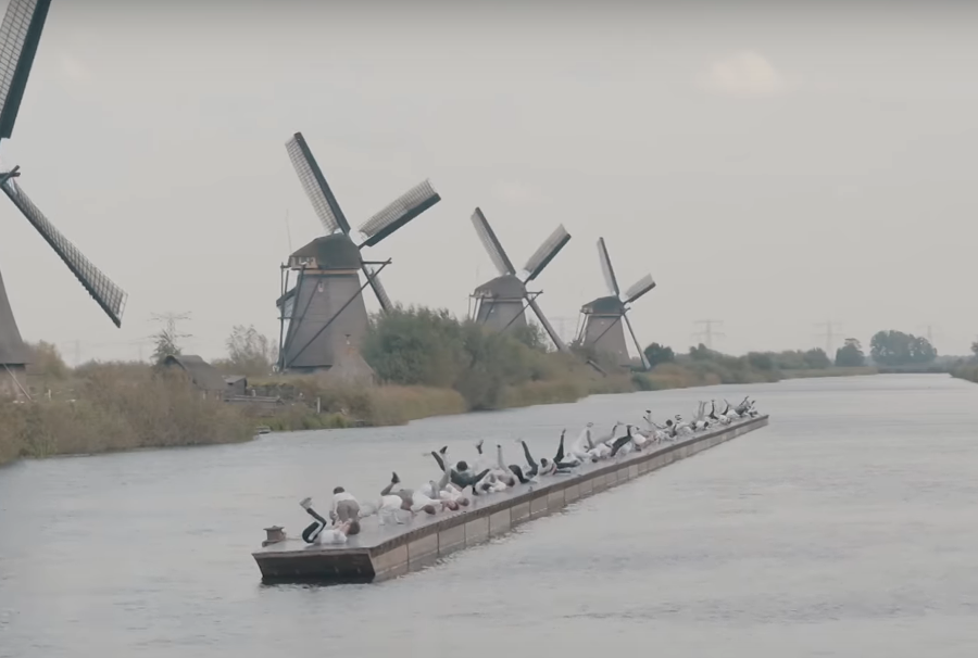 Record Number of B-Boys Do the Windmill in Holland