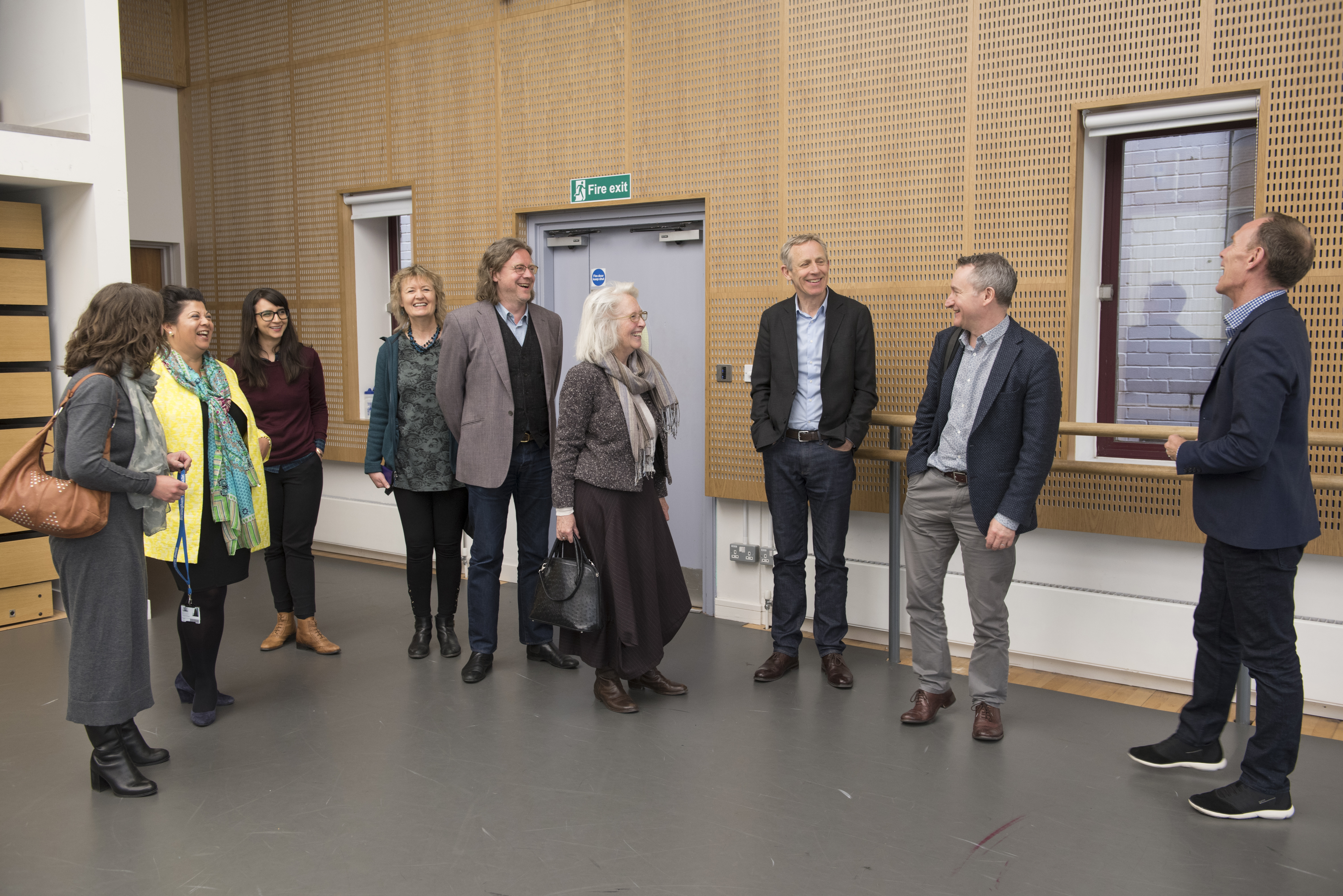 Members of the Ballet Now Creative Consortium. Photo by Phil Hitchman