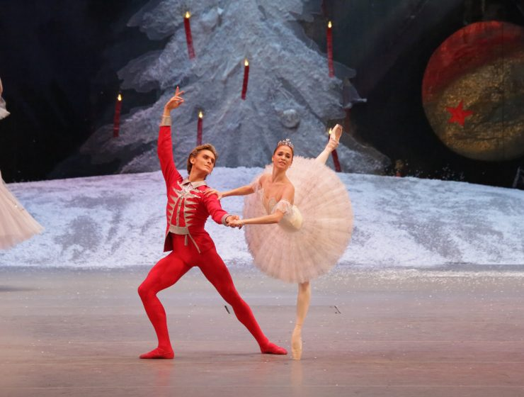 Bolshoi's Nutcracker. Anna Nikulina and Denis Rodkin