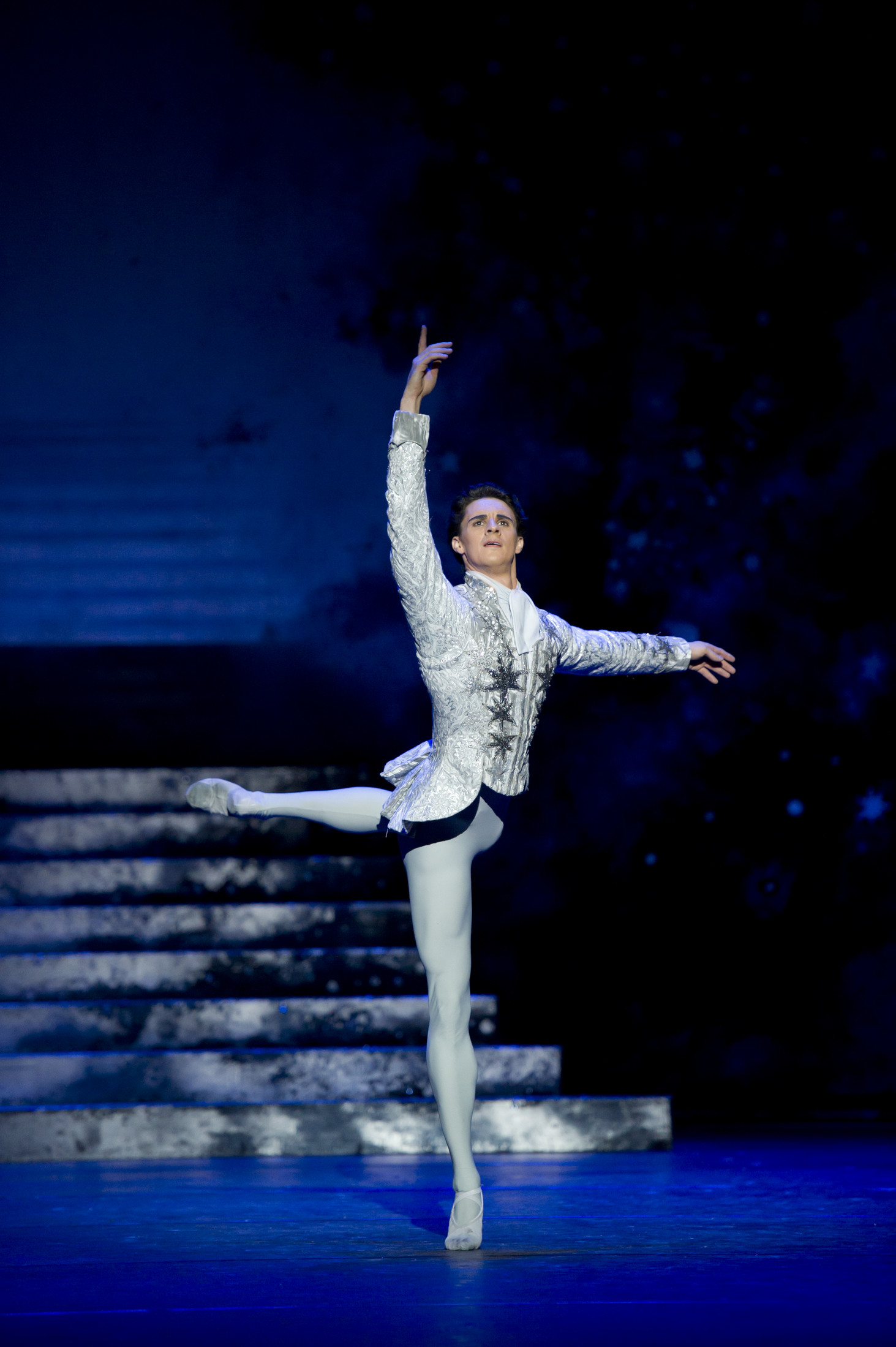 Cinderella: Iain Mackay as the Prince; photo: Bill Cooper