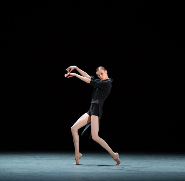 AMORE featuring Svetlana Zakharova in Strokes of the Tail. Photo by Jack Devant