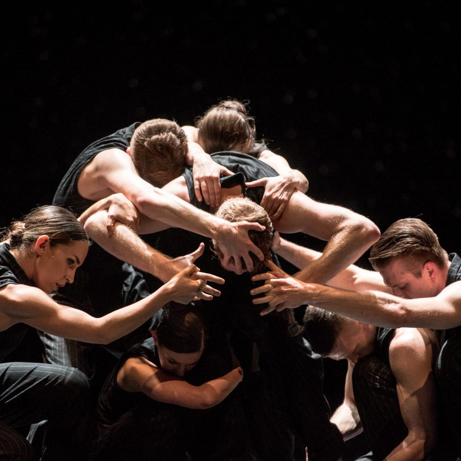 Artists of Ballet BC in Solo Echo. Photo by Wendy D.