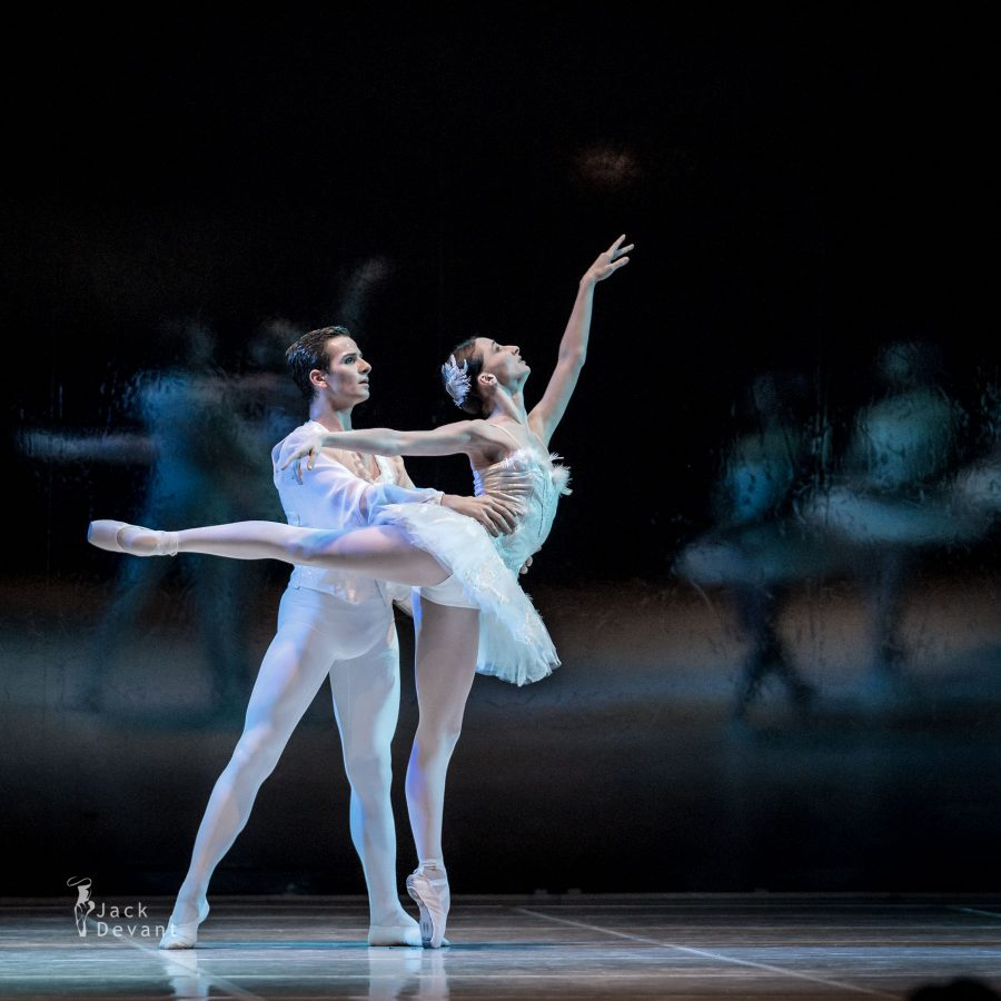 Balletto di Milano performing'Swan Lake', choraographed by Teet Kask. Photo by Jack Devant