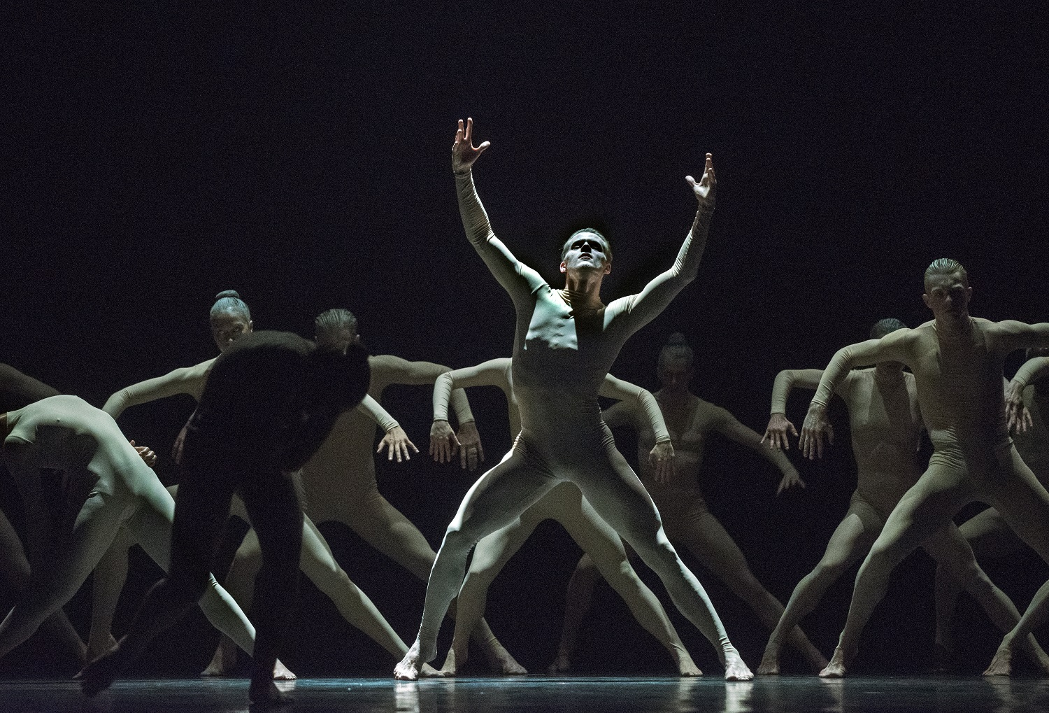 Scott Fowler and Artists of Ballet BC in Bill. Photo by Chris Randle.