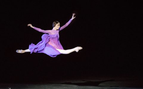 Svetlana Zakharova in 'Rain Before It Falls'. Photo by Jack Devant.