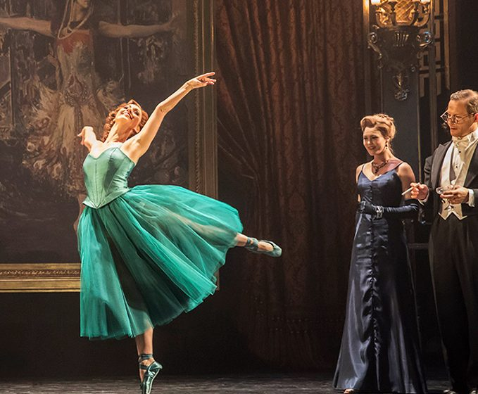 The Red Shoes-Ashley Shaw and Victoria Page. Photo by Johan Persson