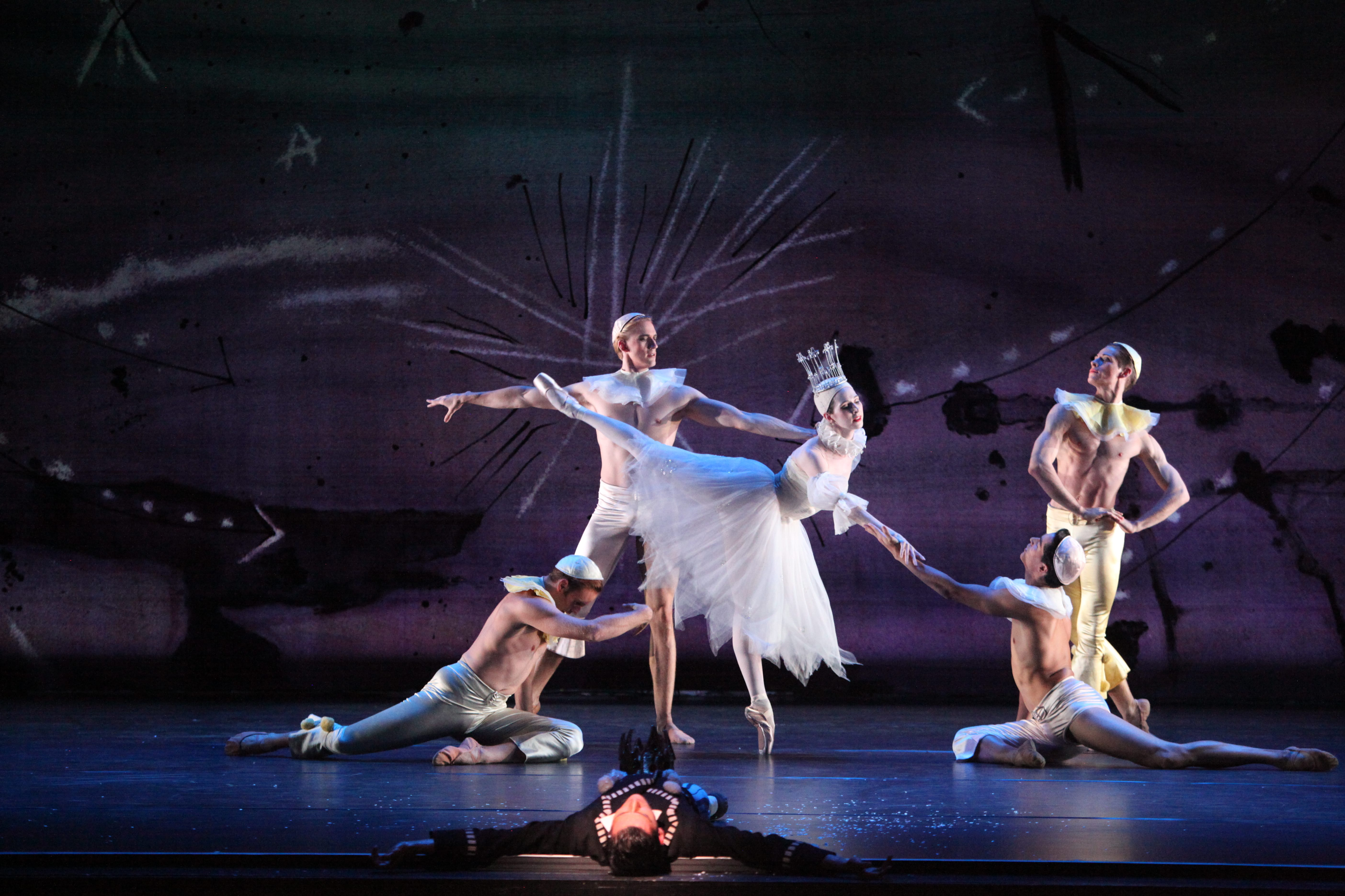 Amy Wood - The Sarasota Ballet in Sir Frederick Ashton's Illuminations. Photo by Frank Atura
