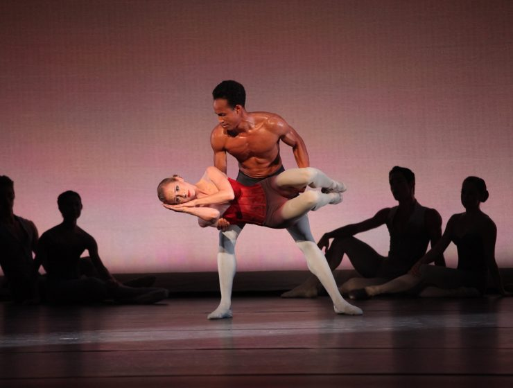 Victoria Hulland and Ricardo Rhodes in Marcelo Gomes' Dear Life... Photo by Frank Atura