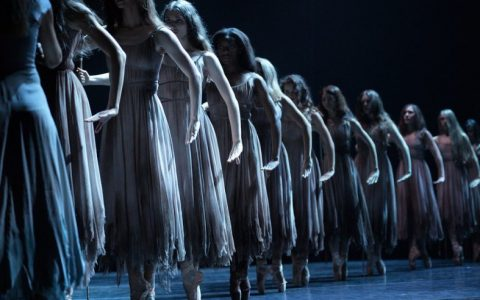 English National Ballet in Akram Khan's Giselle © Laurent Liotardo