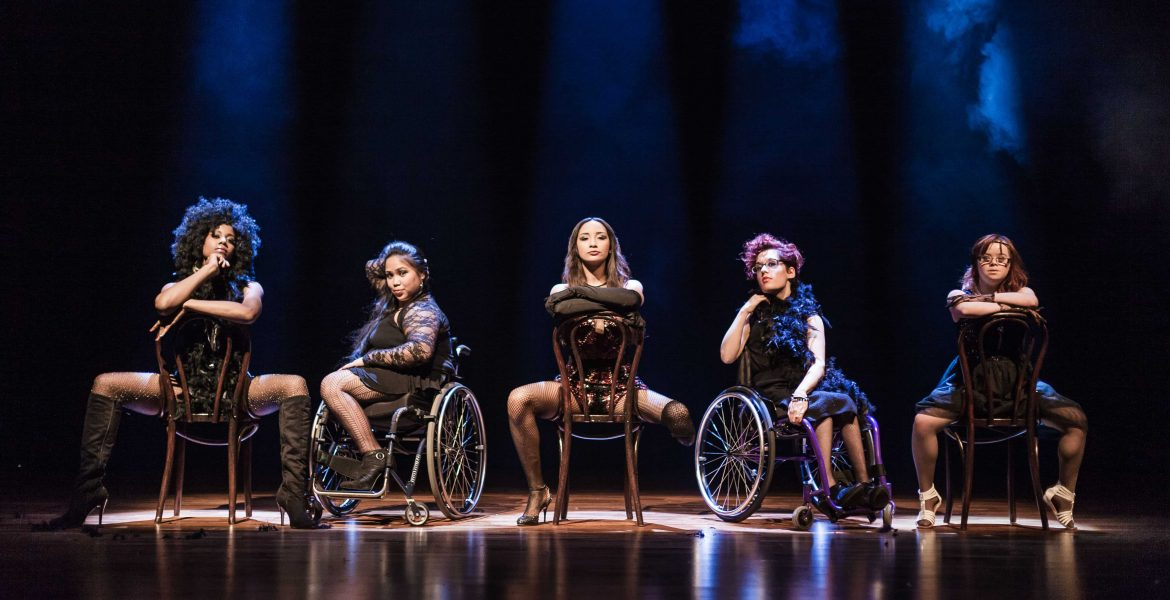 11 Million Reasons to Dance. Chicago ft Laura Dajao (second left). Pic by Sean Goldthorpe
