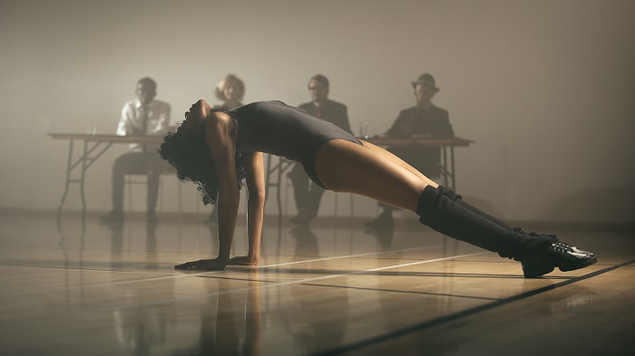 Flash Dance Professional dancer Louise Dickson reimagines the iconic dance audition moment from the 1980s hit film Flashdance. Photographer Sean Goldthorpe