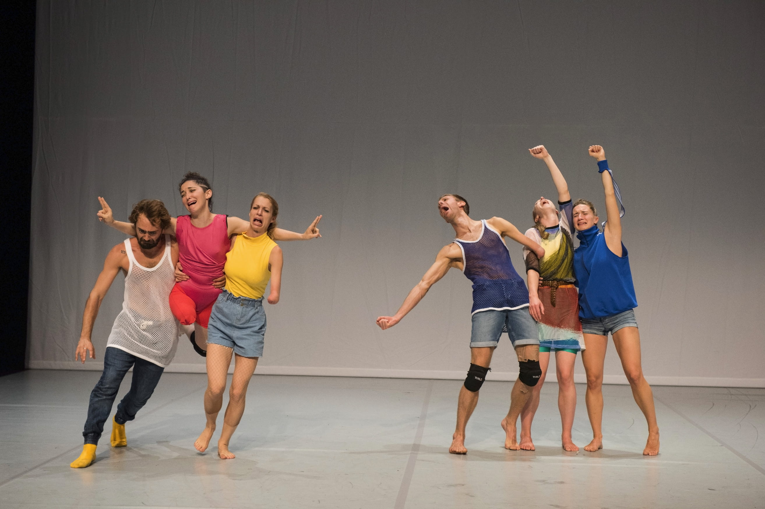 Candoco Dance Company - Face In by Yasmeen Godder. Photography by Hugo Glendinning
