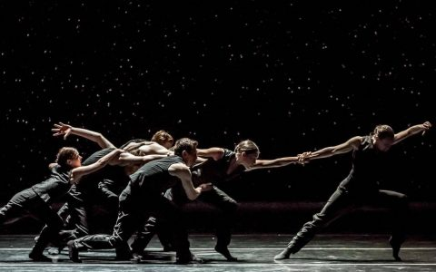 Artists of Ballet BC in Solo Echo. Photo by Wendy D