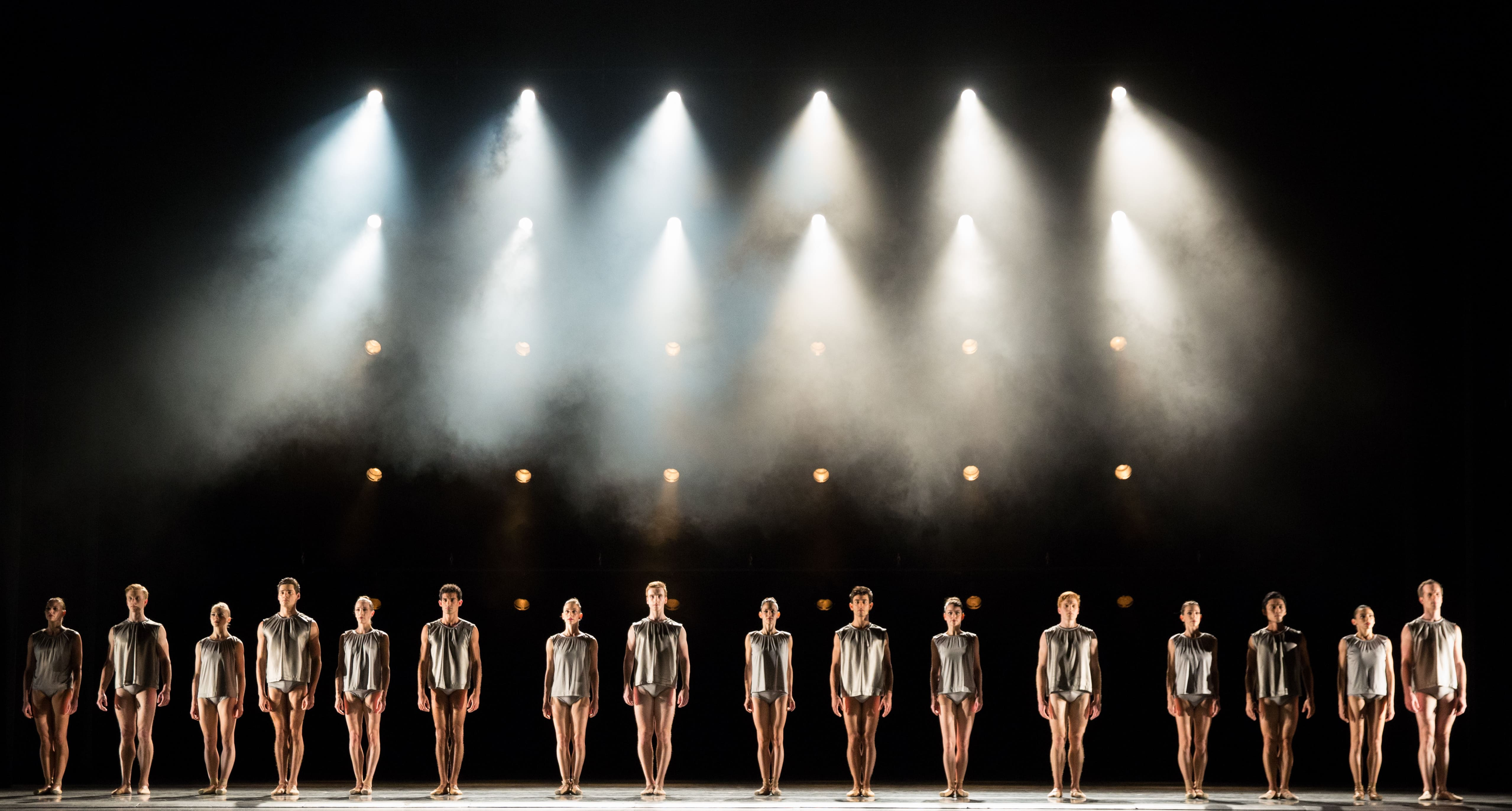 Miami City Ballet dancers in One Line Drawn, Choreography by Brian Brooks. Photo © Alexander Iziliaev.