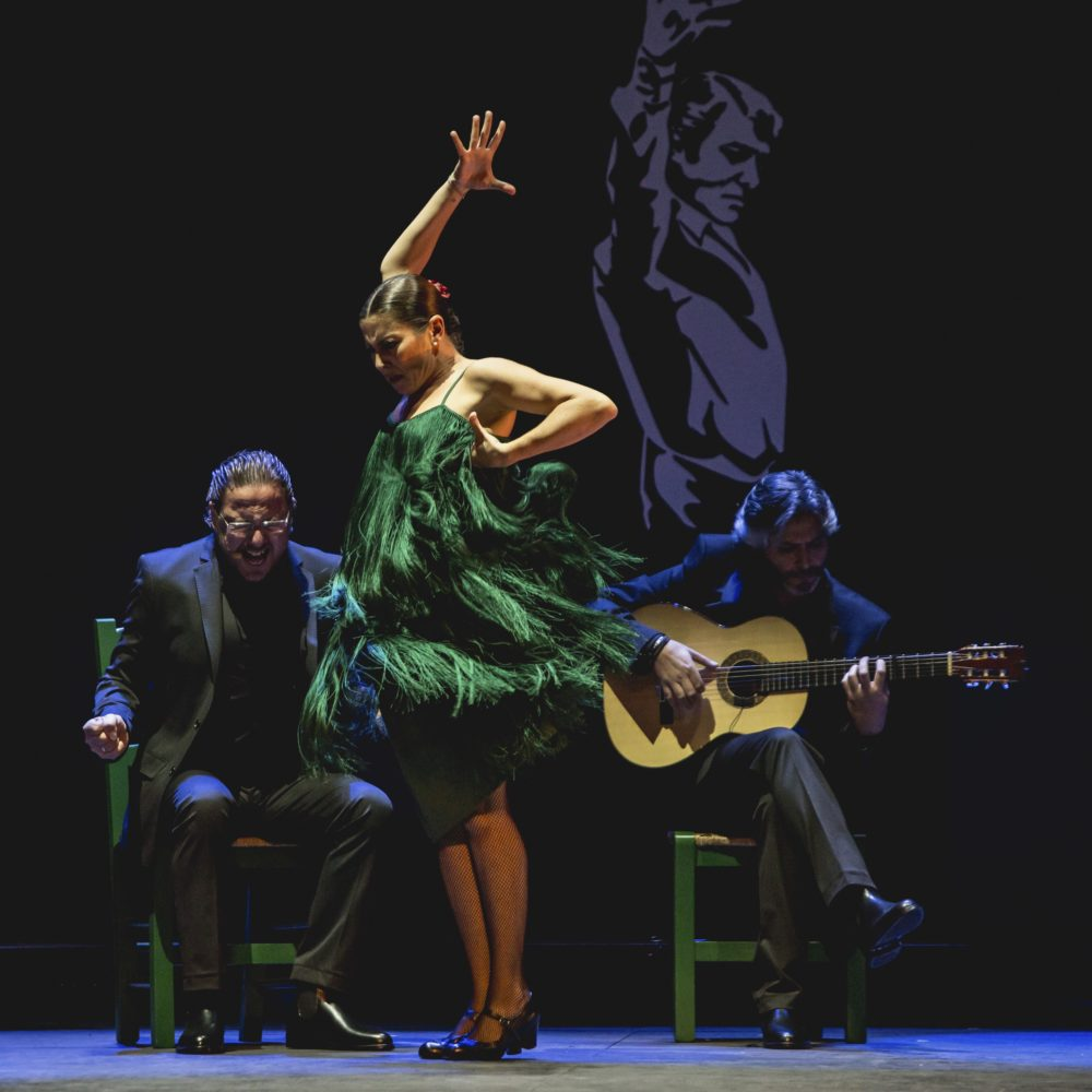 Ballet Flamenco – Sara Baras - Voces - Suite Flamenca. Photo: Santana de Yepes