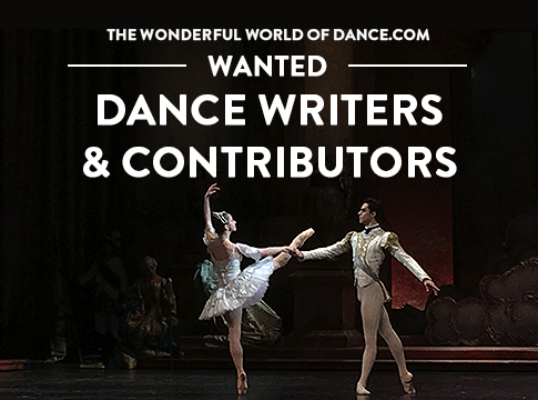 Dance Writers Wanted