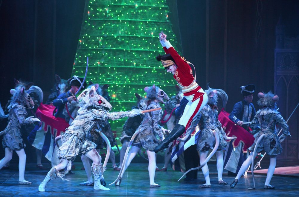 English National Ballet's Nutcracker. Photo by Laurent Liotardo