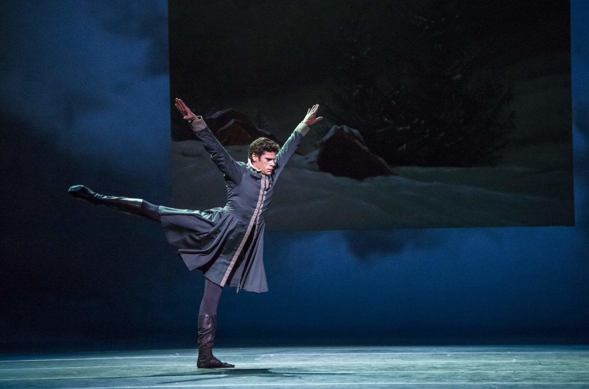The Winter's Tale. Thiago Soares as Leontes. ROH, 2018. Photographed by Tristram Kenton.