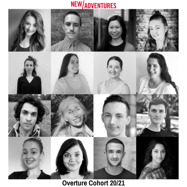 New Adventures announce their 2020/2021 'Overture' dance artists